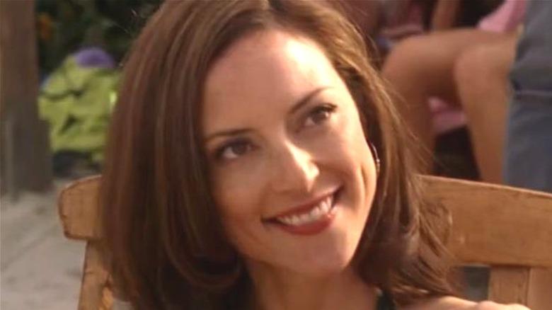 Lola Glaudini smiles in Criminal Minds