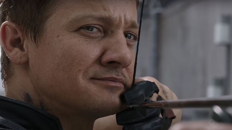 "Jeremy Renner as Hawkeye in ""Marvel's The Avengers"""