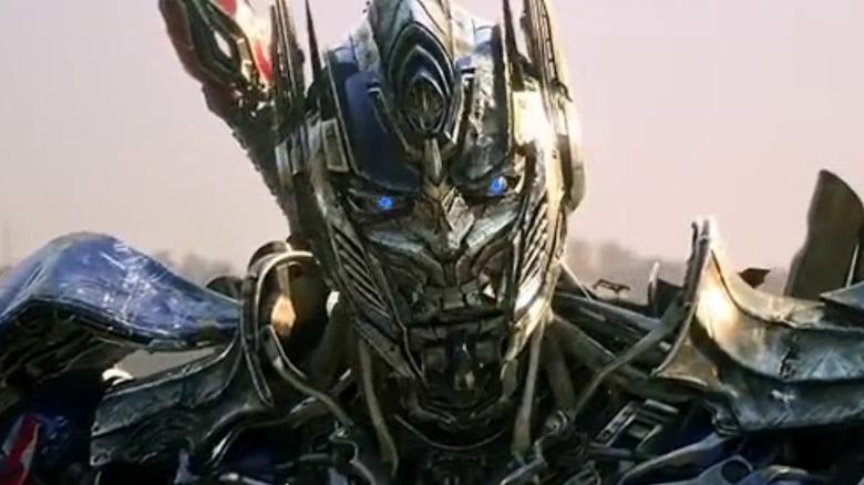 Optimus Prime speaking