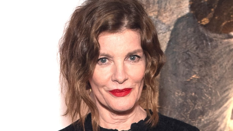 Rene Russo smiling