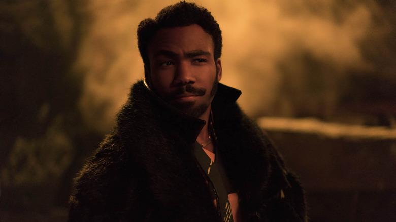 Donald Glover as Lando Calrissian in Solo