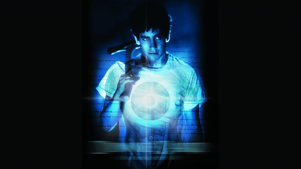Jake Gyllenhaal in promo art for Donnie Darko
