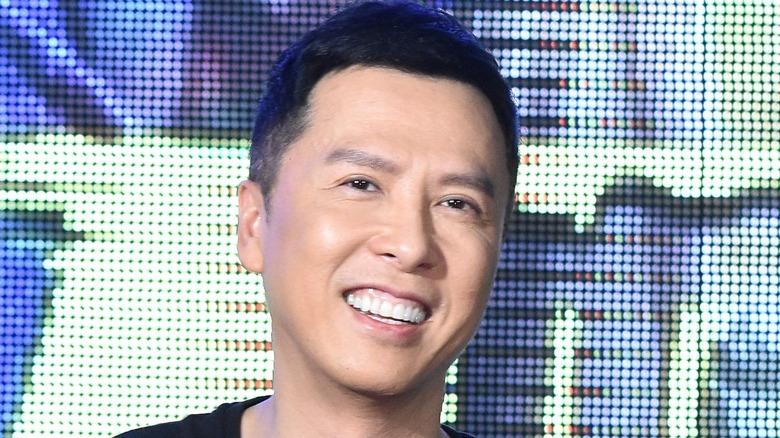 Donnie Yen smiling