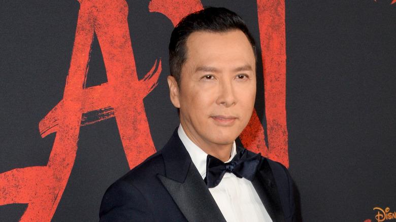 Donnie Yen at Mulan premiere
