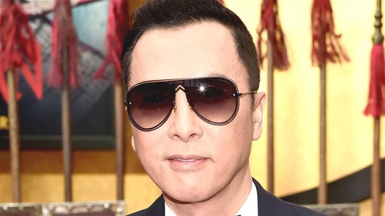 Donnie Yen wearing sunglasses