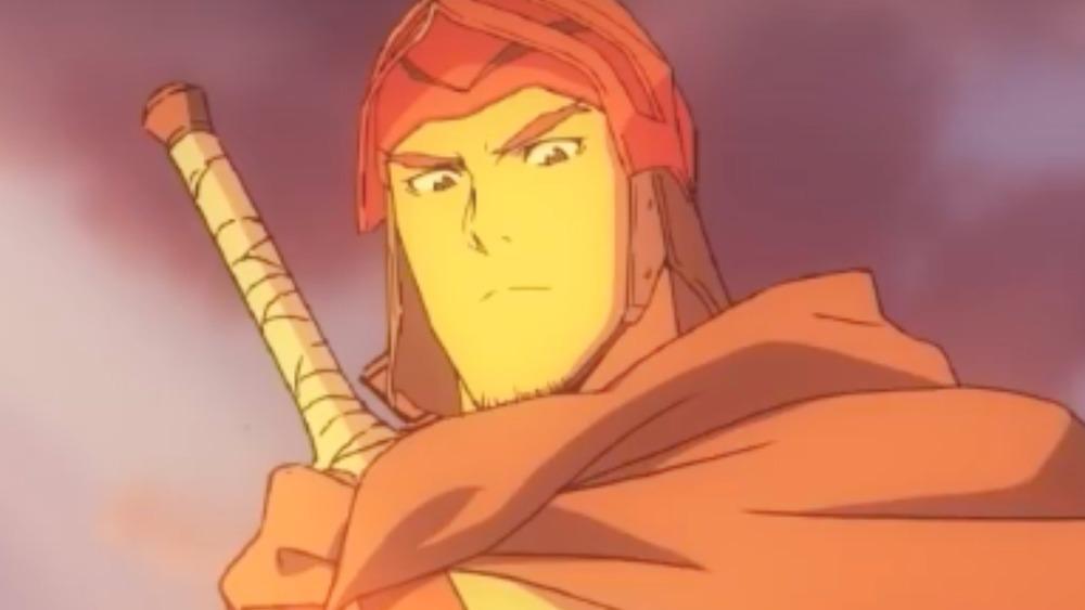Davion with sword