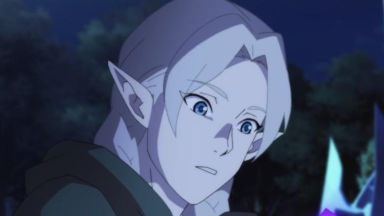An elf in DOTA: Dragon's Blood