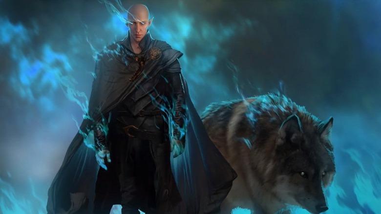 Dragon Age 4 Bioware Solas Dread Wolf concept art