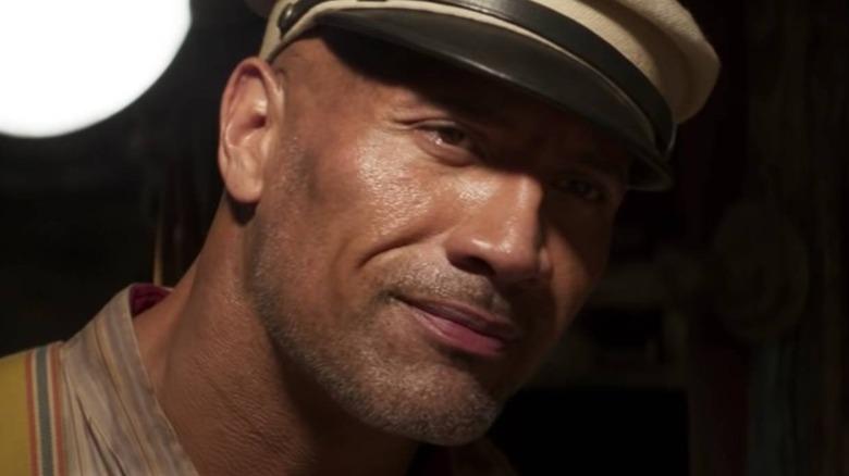 Jungle Cruise Dwayne Johnson smiling