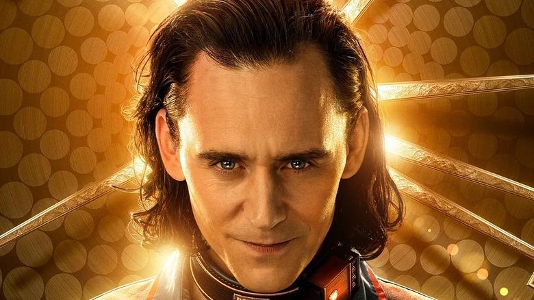 Loki grinning