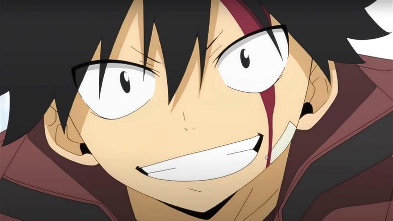 Shiki smiles in Edens Zero