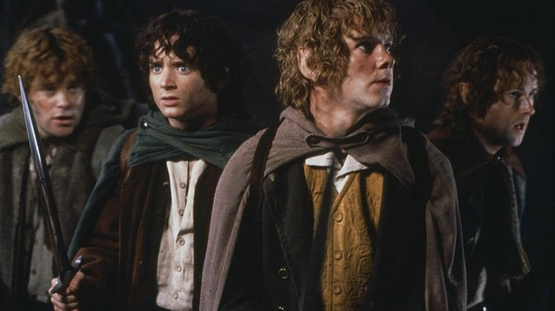The hobbits brace for attack