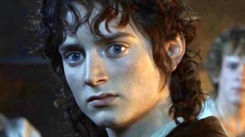Frodo senses evil
