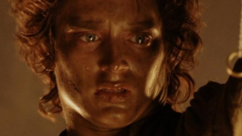 Frodo transfixed by the Ring