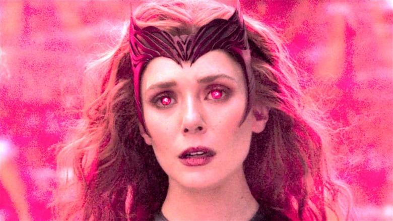 Elizabeth Olsen on WandaVision