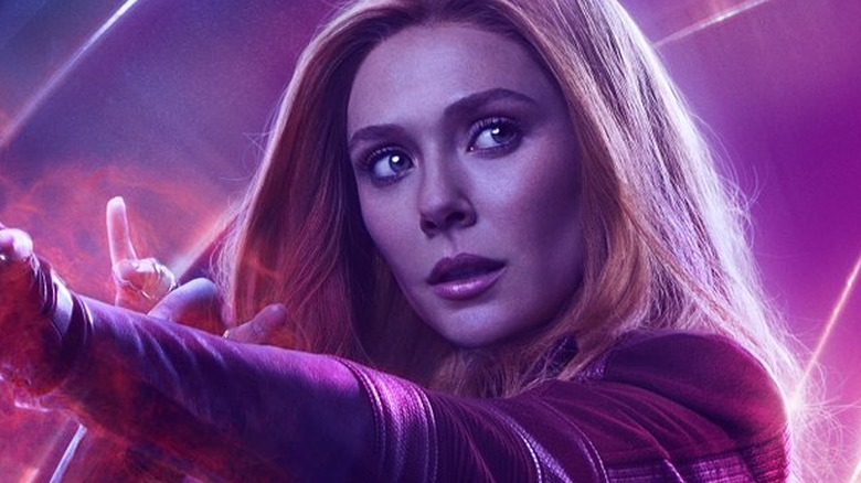 Avengers: Infinity War poster Scarlet Witch