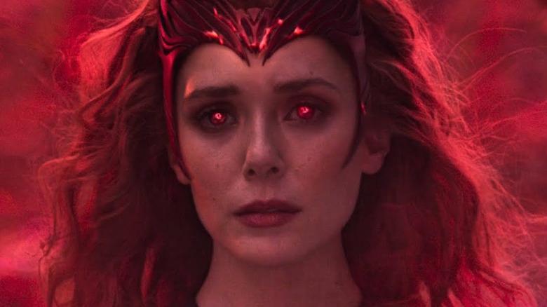 Wanda as Scarlet Witch