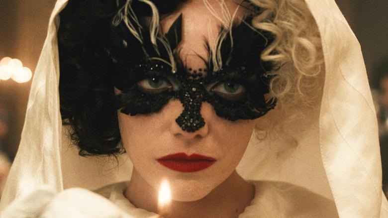 """Emma Stone as Estella """"Cruella"""" de Vil in Cruella"""