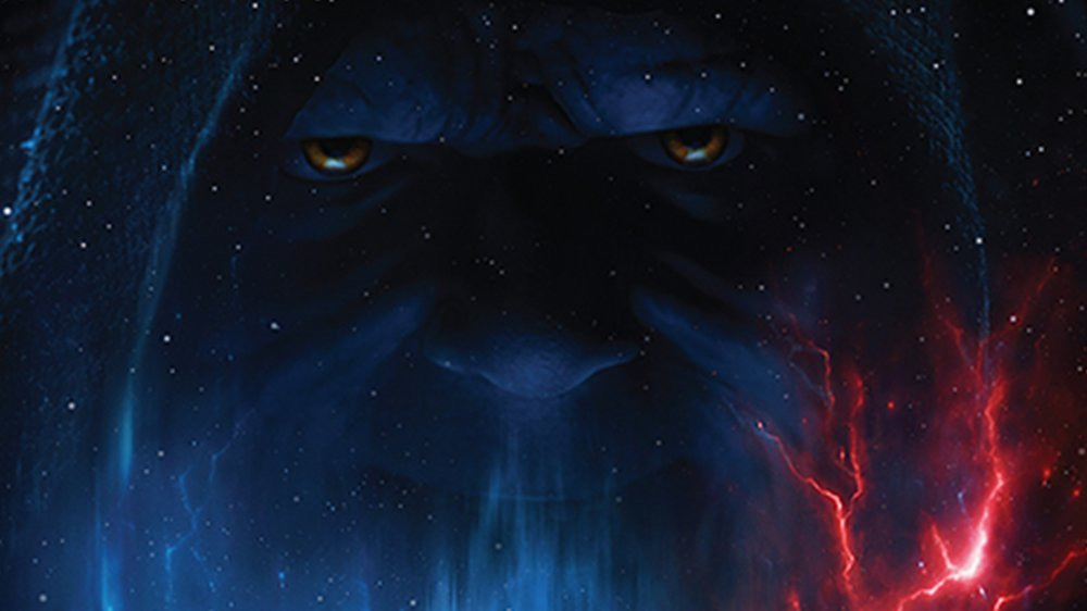 Palpatine on the Rise of Skywalker poster