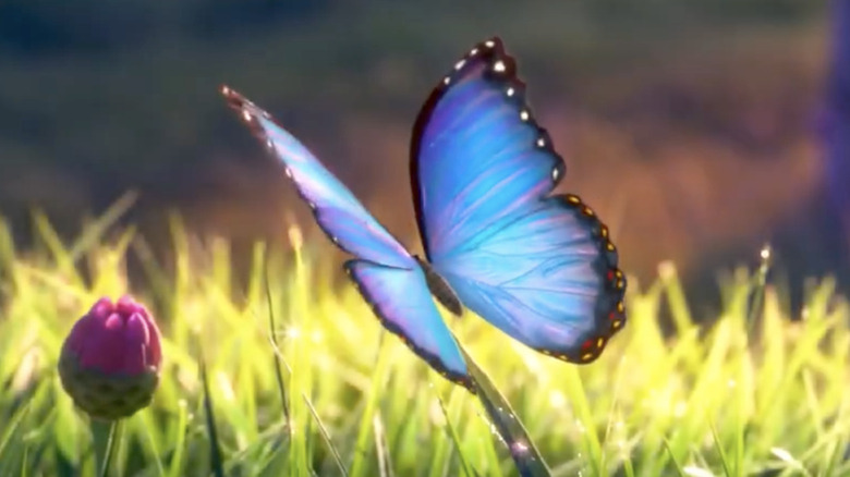 Encanto movie blue butterfly