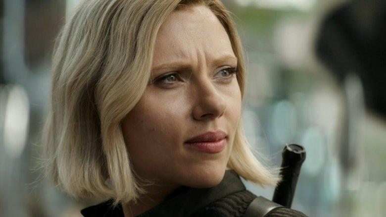 Scarlett Johansson Black Widow Avengers Infinity War