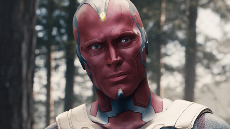 Paul Bettany as Vision in Avengers: Infinity War