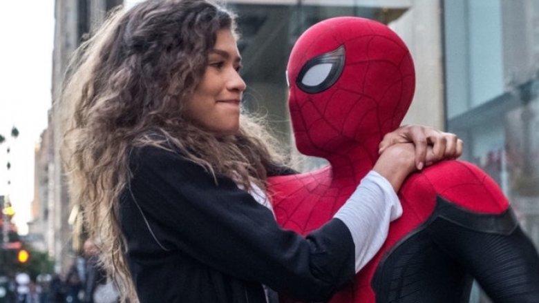 Spider-Man Far From Home Zendaya MJ Tom Holland Peter Parker
