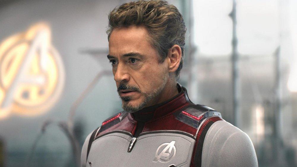 Robert Downey Jr. as Tony Stark in Avengers: Endgame