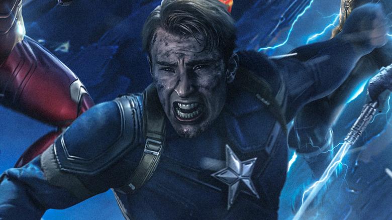 Captain America Avengers Endgame fan art
