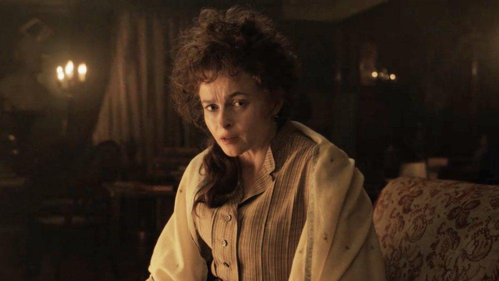 Helena Bonham Carter as Eudoria Holmes in Enola Holmes