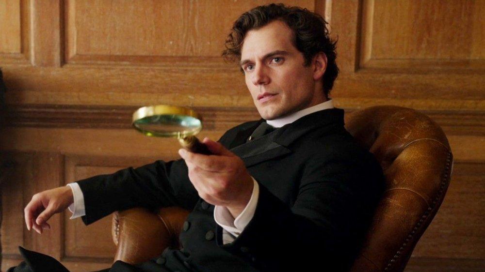 Henry Cavill as Sherlock Holmes in Netflix's Enola Holmes