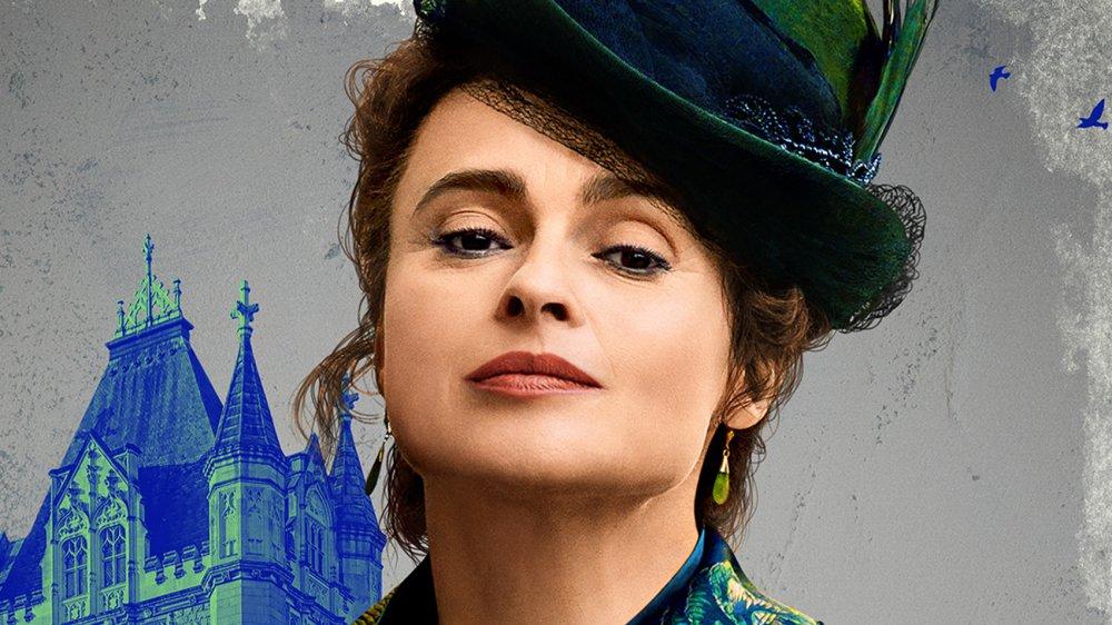 Helena Bonham Carter is Eudoria Holmes in Enola Holmes