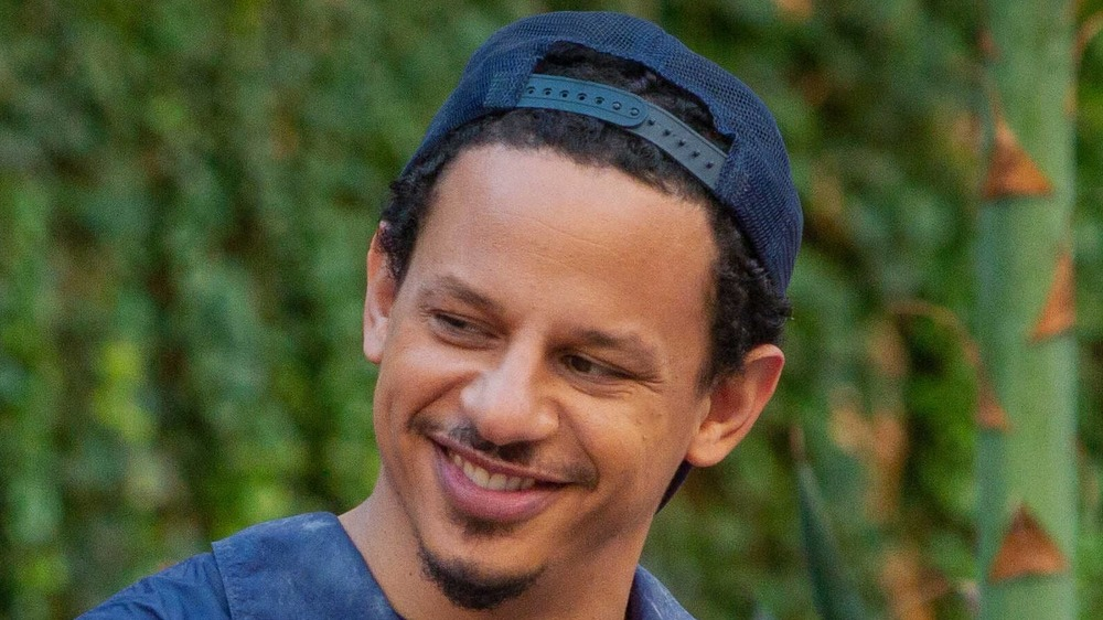 Eric Andre smiling