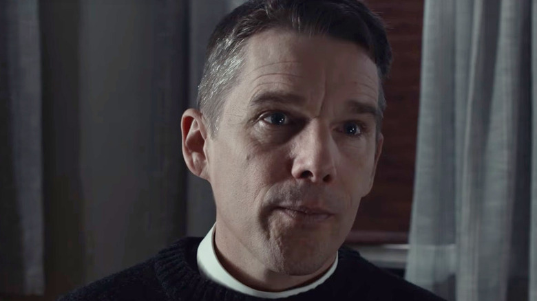 Ethan Hawke in Paul Schrader's First Reformed