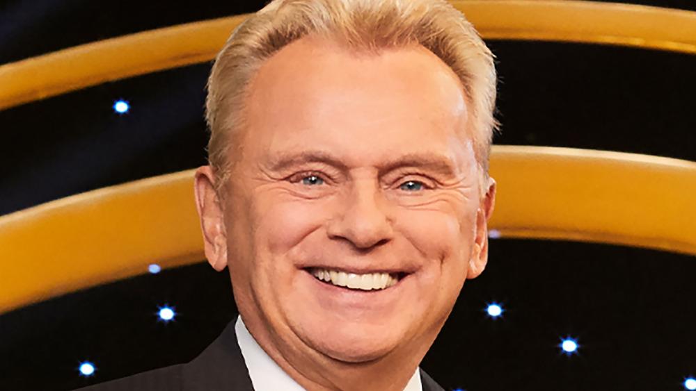 Pat Sajack smiling