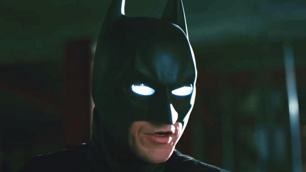 Dark Knight Batman with sonar eyes