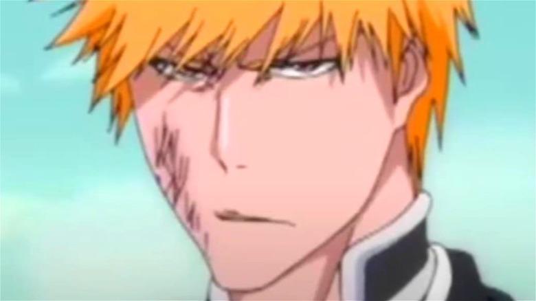 Ichigo squints