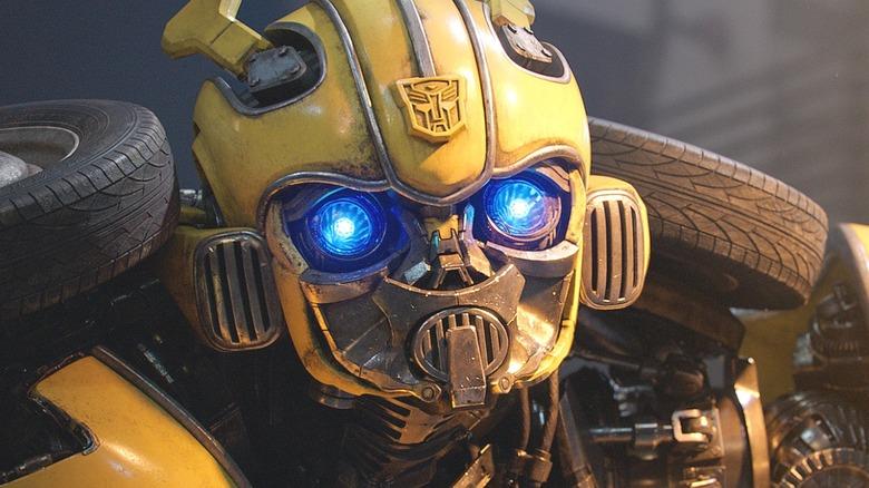 Bumblebee in humanoid form