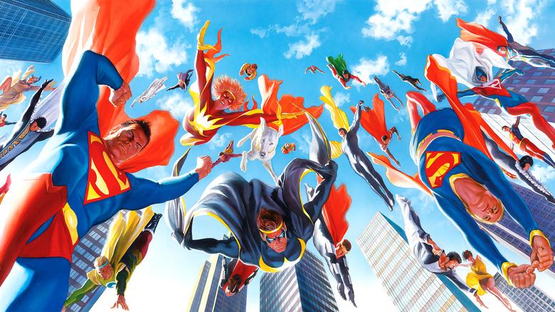 Kryptonians by Alex Ross
