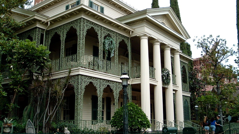 The Haunted Mansion Exterior - Cropped