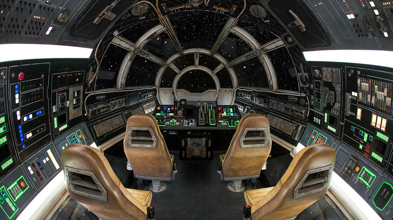 Cockpit - Smuggler's Run