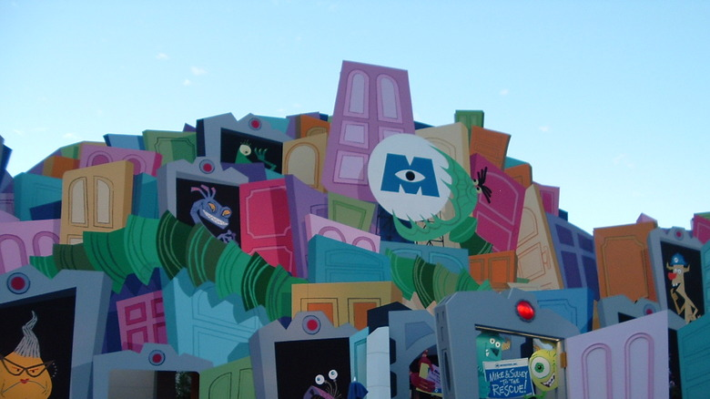 Exterior of Monsters, Inc. ride - Cropped