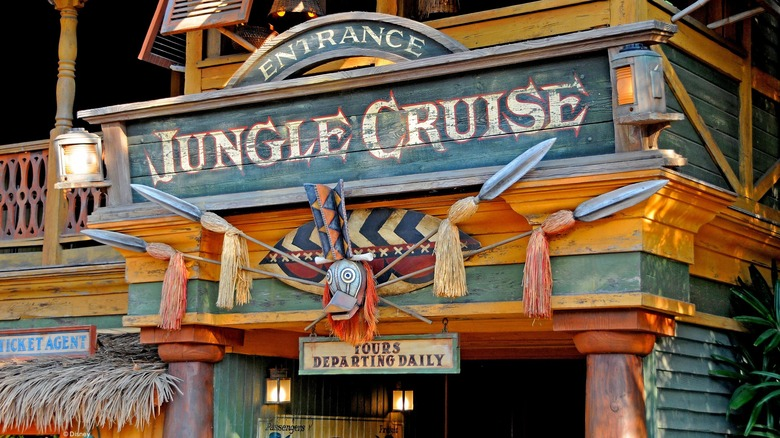 Jungle Cruise at Disneyland - Cropped