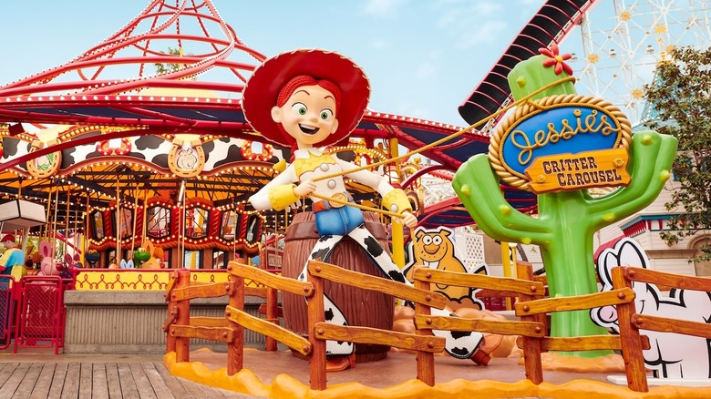 Jessie's Critter Carousel - Cropped
