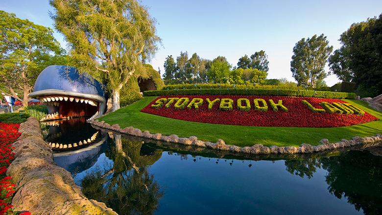 Storybook Land Canal Boats at Disneyland