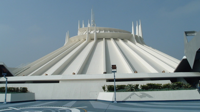 Space Mountain at Disneyland - Cropped