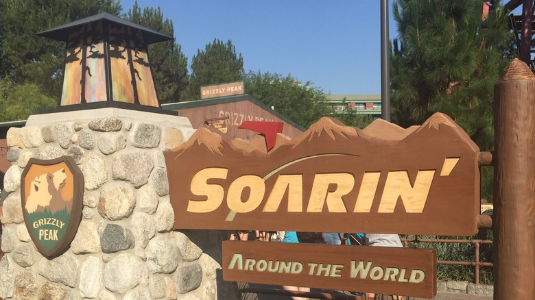 Soarin' sign - cropped