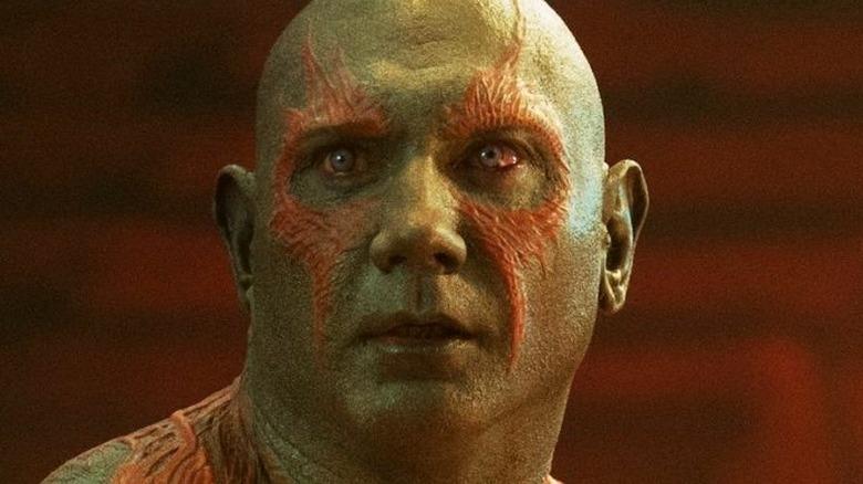 Drax looking alert