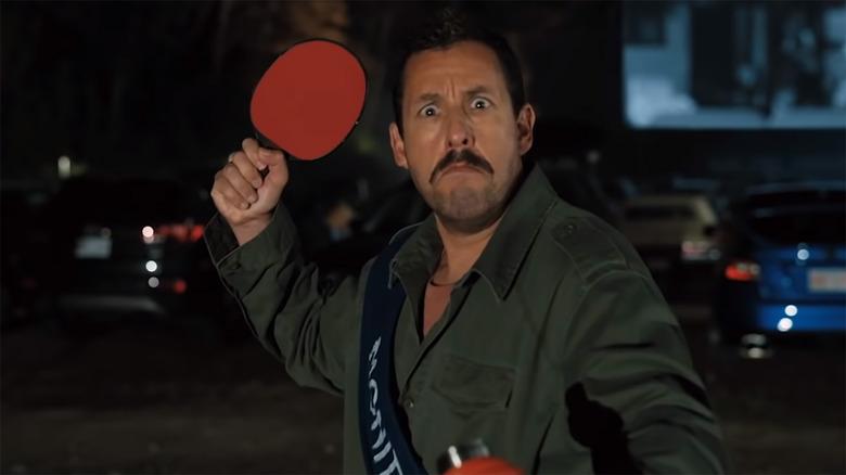 Adam Sandler as Hubie DuBois in Hubie Halloween