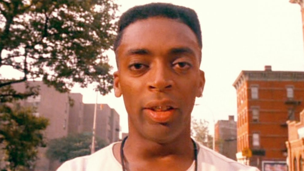 Spike Lee as Mookie in Do the Right Thing